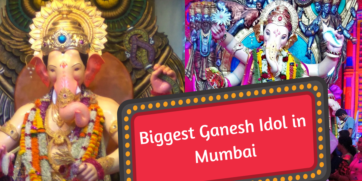 biggest ganpati idols in mumbai