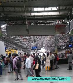 Busiest  Railway Station In Mumbai